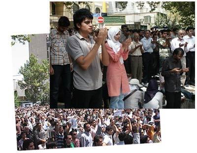 نماز جمعه / اعتراضات پس از نماز جمعه